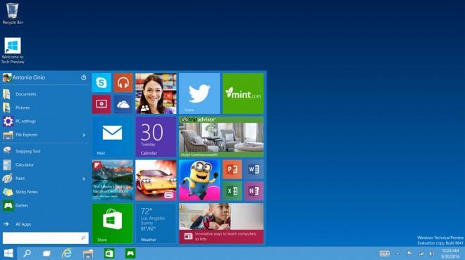 Presentado el nuevo windows 10