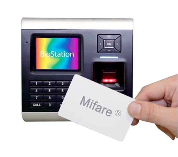 Terminal BioStation sensor óptico Mifare